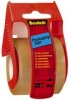 Verpackungsklebeband im Handabroller 50 mm x 20 m  braun