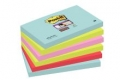 Haftnotiz Z-Notes Miami Collection - 127 x 76 mm, 6 x 90 Blatt