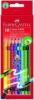 Radierbare Farbstifte Kartonetui mit 10 Farben (Soft-Grip-Zone)
