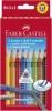 Farbstifte Jumbo GRIP Etuis mit verschiedenen Farben 8 Farben + Bleistift + Namensfeldstift
