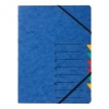 Ordnungsmappen EASY mit 7 Fächern blau