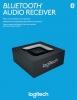 Bluetooth-Audioempfänger Adapter schwarz