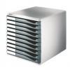 Schubladenboxen Formular-Set Schubladenboxen lichtgrau/dunkelgrau