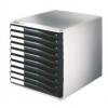 Schubladenboxen Formular-Set Schubladenboxen lichtgrau/schwarz
