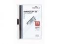 Klemm-Mappe DURACLIP® Original für bis zu 30 Blatt A4, Größe: 220x307 mm weiß