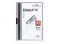 Klemm-Mappen DURACLIP® Original für bis zu 30 Blatt A4, Größe: 220x307 mm grau