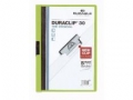 Klemm-Mappen DURACLIP® Original für bis zu 30 Blatt A4, Größe: 220x307 mm grün