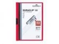 Klemm-Mappen DURACLIP® Original für bis zu 30 Blatt A4, Größe: 220x307 mm rot