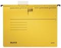 Hängehefter ALPHA® - kfm. Heftung, Recyclingkarton, gelb