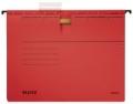 Hängehefter ALPHA® - kfm. Heftung, Recyclingkarton, rot