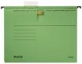 Hängehefter ALPHA® - kfm. Heftung, Recyclingkarton, grün