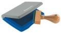 Kunststoff-Stempelkissen Typ 3: 7 x 5 cm blau