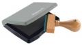Kunststoff-Stempelkissen Typ 3: 7 x 5 cm schwarz