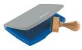 Kunststoff-Stempelkissen Typ 2: 11 x 7 cm blau
