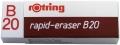 Radierer rapid-eraser B20 65 x 21 x 11 mm