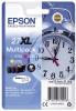 Epson Inkjet-Druckerpatronen schwarz, cyan, magenta, yellow, 3 x 1.200 Seiten , C13T27154012