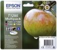 Epson Inkjet-Druckerpatronen schwarz, cyan, magenta, yellow, 1x580, 3x470 Seiten , C13T12954012