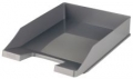 Briefablage KLASSIK, DIN A4/C4, stapelbar, stabil, modern, dunkelgrau