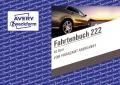 Fahrtenbuch für KFz, Schema über 2 S., steuerlicher km-Nachweis m. Jahresabrechnung A6 quer