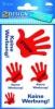 AVERY Zweckform® Selbstklebende Hinweis-Schilder 3741 rot