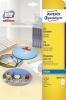 AVERY Zweckform® CD-Etiketten SuperSize, Inkjet J8676-25