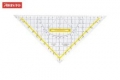 Geometrie TZ-Dreiecke mit abnehmbarem Griff, Facette an allen Seiten 250 mm