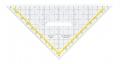 Geometrie TZ-Dreiecke mit festem Griff, Facette an der Hypotenuse 225 mm