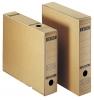 Archiv-Schachtel A3 mit Verschlusslasche naturbraun