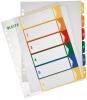 PC-beschriftbare Register A4 6 Blatt, Tabe 1-6