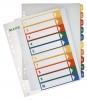 PC-beschriftbare Register A4 10 Blatt, Tabe 1-10