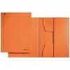 Jurismappen für Größe A4 orange