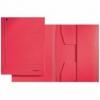 Jurismappen für Größe A4 rot