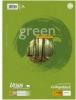 Green Collegeblöcke A4 Pure Impact kariert