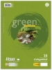 Green Collegeblöcke A4 Pure Impact liniert mit Rand