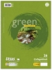 Green Collegeblöcke A4 Pure Impact kariert mit Rand