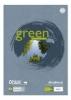 Green Briefblock  Pure Impact kariert