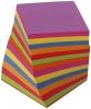 Ersatzzettelklotz 9x8x9 cm Neonfarben sortiert