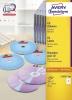 AVERY Zweckform® Inkjet+Laser+Kopier CD/DVD-Etiketten SuperSize L7676-100