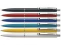 Kugelschreiber K 15 blau, Schaftfarbe sortiert