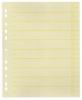 Trennblätter, farbig bedruckt Farbiger Organisationsdruck gelb