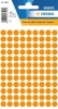 Herma Farb-/Markierungs-Punkte 8mm leuchtorange
