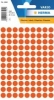 Herma Farb-/Markierungs-Punkte 8mm rot