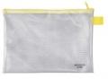 Reißverschlusstaschen A5, 250 x 180 mm Reißverschluss gelb