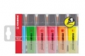 Textmarker BOSS® ORIGINAL  Etuis blau, gelb, grün, orange, pink, rot