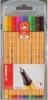 Feinschreiber point 88®  Etui mit 10 Standardfarben