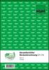 Kassenbericht mit Bestandsrechnung A5