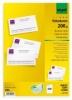 Sigel® PC-Visitenkarten, weiß DP939