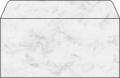Sigel® Design-Briefumschläge DIN lang (220x110 mm) DP 073 Marmor grau