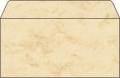 Sigel® Design-Briefumschläge DIN lang (220x110 mm) DP 074 Marmor beige