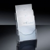 Tisch-Prospekthalter acrylic Tisch-Prospekthalter mit 3 Fächer 3 x A4